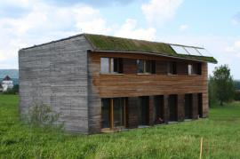 Pasivní dům investora a architekta Lukáše Pejsara