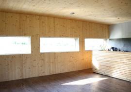 Interiér pasivního domu