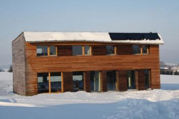 Novostavba pasivního domu