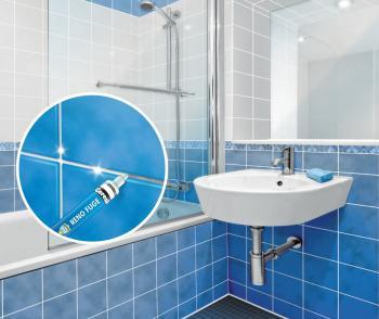 Ceresit RENO FUGE - detail v koupelně