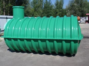 Jednokomorová nádrž na dešťovou vodu
