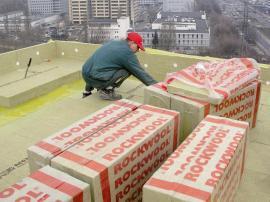 Zateplování ploché střechy