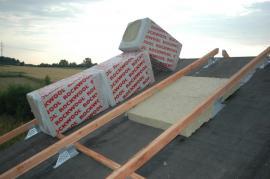Nadkrokevní zateplování šikmé střechy