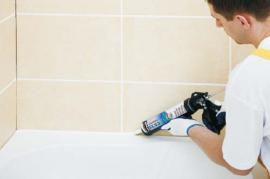 Ceresit KROK 10 - nanesení sanitárního silikonu