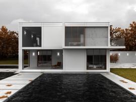 Betonová konstrukce rodinného domu