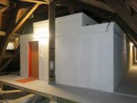 Vestavba do krovu svyužitím systému Lindab Construline.