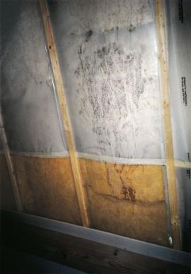 Chyby izolace podkroví