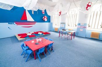 Interiér školy Keytone