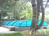 Zastřešení bazénu