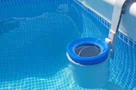 Skimmer pro tablety s bazénovou chemií