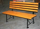 Venkovní kovová lavička Clasiic