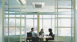 Vnitřní stropní - kazetová klimatizační jednotka Fuji Electric