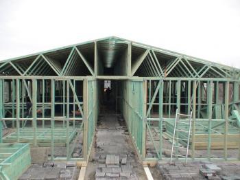 Obytná nástavba na ploché střeše