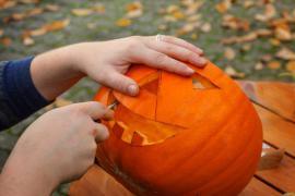 Dýně - výzdoba na Halloween