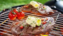 Příprava hovězího steaku