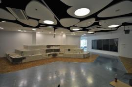 Fotografie z realizace obchodního centra Florentinum