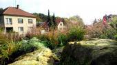 Zahrada rodinného domu v Kralupech nad Vltavou
