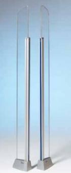 Detektor alobalu instalovaný na bezpečnostní bráně