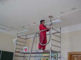 Foukaná izolace stropu