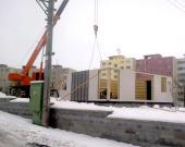 Výstavba vzorového domu v Sedlčanech