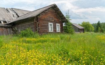 Stará dřevěná budova