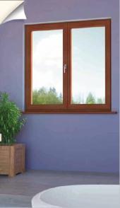 Pasivní okno ENERGY Concept 90 Alu-effect