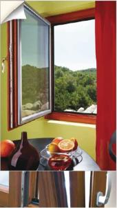Dřevo-hliníkové okno Dual-Standard