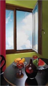 Dřevo-hliníkové okno Alu-Effect