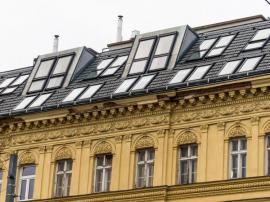 Nová výstavba podkrovních bytů