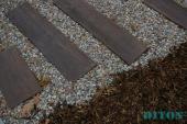 Betonová prkna v imitaci smrku