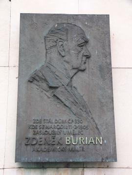 Busta Zdeňka Buriana, autor: Michal Maňas CC 3.0 Unported