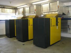 Šroubové kompresory KAESER