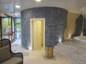 Ražený kámen R-Lay v interiéru