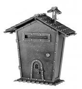 Kovaná poštovní schránka