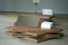 Pokládka nové keramické dlažby