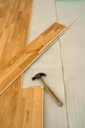Pokládka nové plovoucí podlahy
