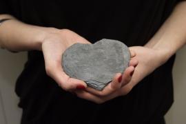 Ukázky řemesel - Břidlicové srdce