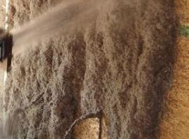 Celulózová foukaná izolace - mokrá cesta