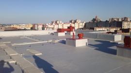 Fóliová hydroizolace střechy
