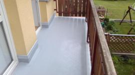 Fóliová hydroizolace balkónu