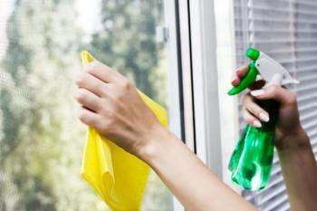 Mytí okenních skel