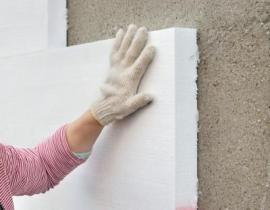 Zateplování fasády polystyrenovými deskami