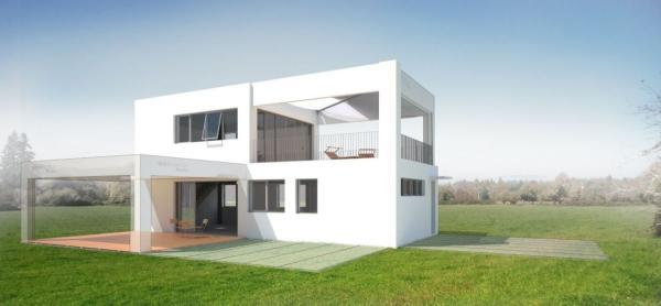 Se Skeletsystemem Goldbeck stavíte rostoucí dům, který můžete kdykoliv rozšířit.