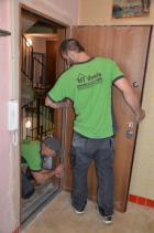 Instalace bezpečnostních dveří