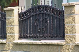 Atypická kovová plotová výplň