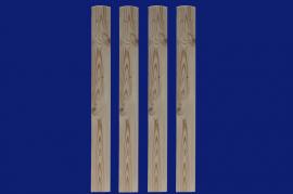 Dřevěná plotovka SM 82-800 18x82x800 mm