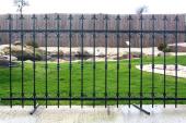Kovaná plotová výplň ROMA 1200x2360 - kovářská černá
