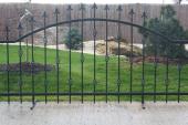 Kovaná plotová výplň SAN MARINO 1200x2360 - kovářská černá