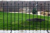 Kovaná plotová výplň VERONA 1200x2360 - kovářská černá