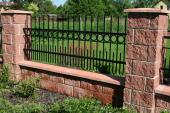 Atypická kovaná plotová výplň